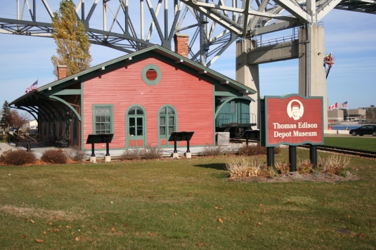 Thomas Edison Depot Museum in Port Huron