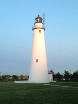 Fort Gratiot Lighthouse in Port Huron