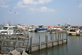 Harbor Beach marina