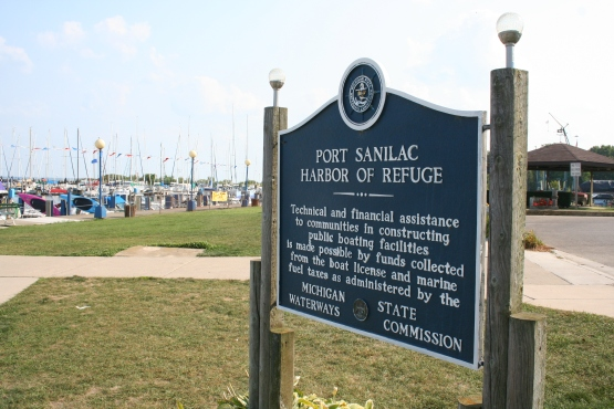 Port Sanilac Harbor