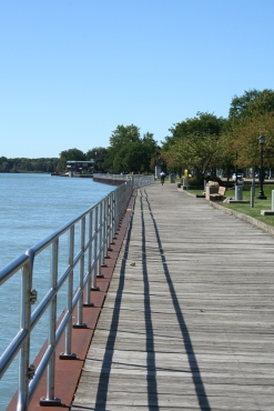 Boardwalk in Algonac