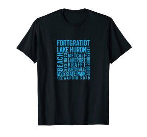 fort gratiot tee shirt