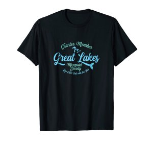 great lakes mermaid tee shirt