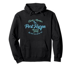 port huron mermaid hoodie