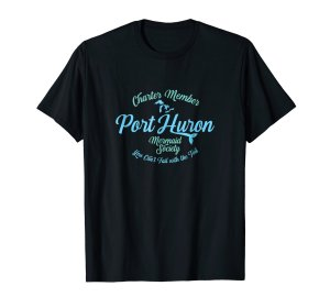 port huron mermaid tee shirt